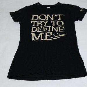 Divergent Black T-Shirt